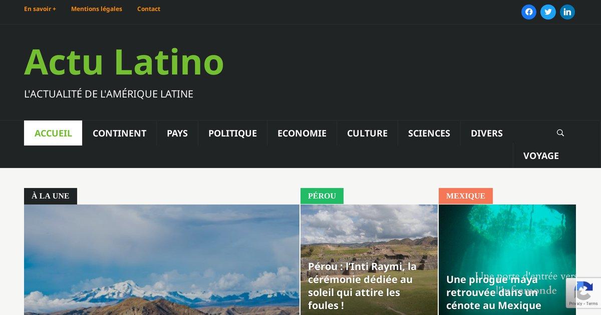"""""""Mexique:l'actualité mexicaine par Actu Latino"""""""