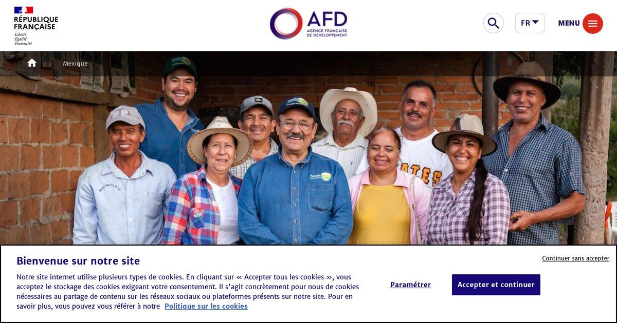 """""""AFD - Agence Française de Développement - Mexique"""""""
