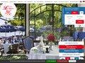 Détails : www.hotellescygnes.com : restaurant aux bords du lac de Genève non loin de Evian-les-bains