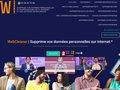 Détails : WebCleaner efface votre nom sur internet