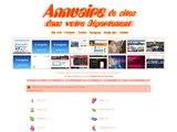 Annuaire des sites classés par département Français
