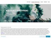 Mateusz Skrzyński. Blog. Strona autorska.