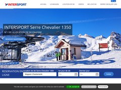 Détails : Location Ski Serre Chevallier 1350 Chantemerle Intersport
