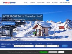 Détails : Location Ski Serre Chevalier 1400 Villeneuve Intersport