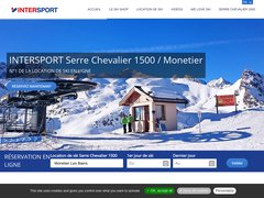 Détails : Location Ski Serre Chevallier 1500 Monetier Intersport