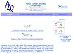 Association Alpes Léman Quebec