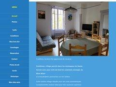 Détails : Appartement de vacances à COMBLOUX