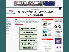 Détails : Comité de la Haute-Savoie d'Athlétisme