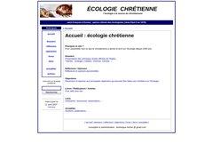 Détails : Ecologie Chrétienne