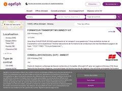Les offres d'emploi Annecy - Agefiph