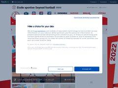Détails : ES Seynod Football