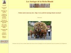 Détails : Les Attelages de la Flèche Blonde