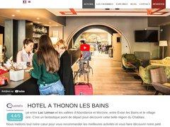 Hôtel Restaurant le Comte Rouge à Thonon