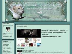 Détails : Association Levriers 74 - Sauvetage des Lévriers d'Espagne