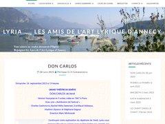 Détails : Lyria Les Amis de l'Art Lyrique d'Annecy