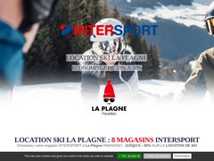 Détails : Location Ski Plagne 1800 Intersport