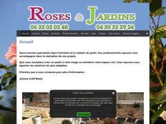Détails : Roses et Jardins