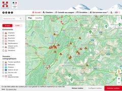 Détails : Savoie route, info trafic routière en Savoie