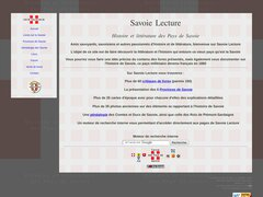 Savoie Lecture