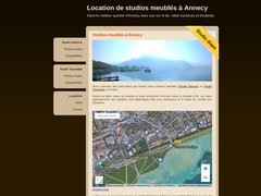 Détails : Studio meublé à louer, Annecy
