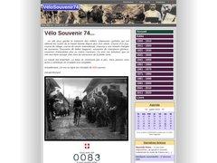 Vélo Souvenir 74