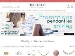 Aperçu du site 1001 bijoux