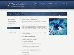 Détails : 2A à Zaide Informatique
