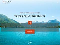 Détails : Albigny Immobilier