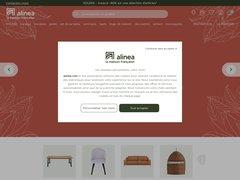 Aperçu du site Alinea