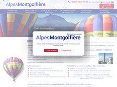 Alpes Montgolfière