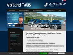 Alp'Land Taxis - Taxi Annecy Faverges