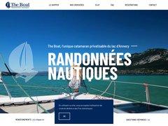 The Boat - Croisères en Catamaran Lac d'Annecy