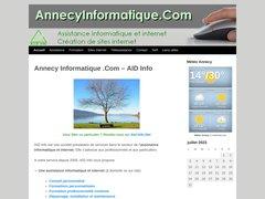 Détails : Annecy Informatique .Com - Assistance Informatique