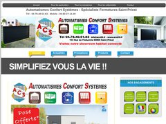 Fermetures automatisées près de Lyon, Rhône, 69