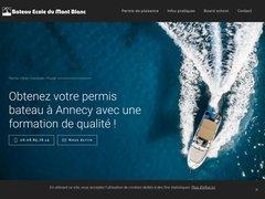 Détails : Bateau Ecole du Mont Blanc