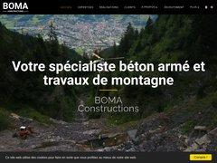 Détails : BOMA Constructions à Passy en Haute Savoie (74)