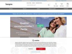 Aperçu du site Bonprix