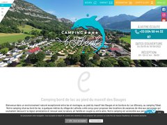 Camping L'Ideal *** Chaparon - Lac d'Annecy