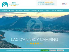 Détails : Camping International du lac d'Annecy ****