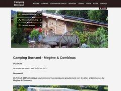 Détails : Camping Bornand Megeve