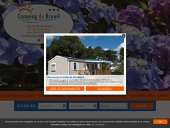 Détails : Camping avec piscine situé à Ambon en Bretagne Sud