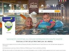 Détails : Camping L'escale *** au Grand Bornand