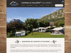 Détails : Camping Le Taillefer à Doussard - Lac d'Annecy