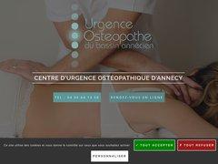 Détails : Urgence Ostéo Annecy 7j/7