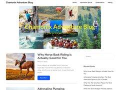 Détails : Chamonix Aventure