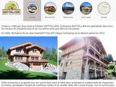 Charpente Bottollier à Cordon en Haute Savoie 74