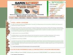 Détails : Garin Bâtiment à Bonne en Haute Savoie (74)