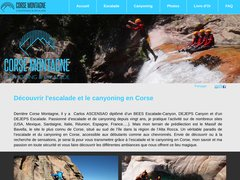 Détails : Canyoning en Corse