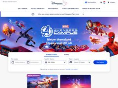 Aperçu du site Disneyland Paris