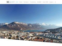 Détails : Drone vue aerienne haute-savoie rhone alpes